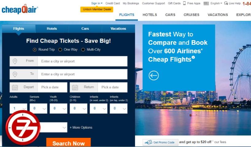 حجز طيران بأرخص سعر ومثال طريقة حجز Onurair 3
