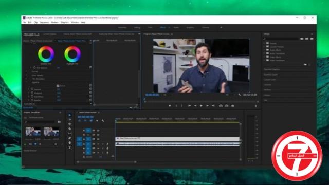 1- برنامج الفيديو الشهير أدوبي بريمير برو Adobe Premiere Pro CC