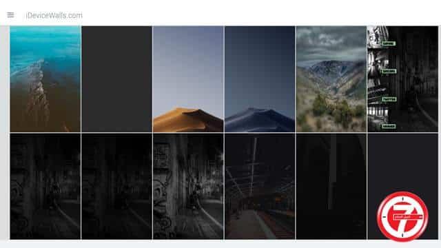 موقع iDeviceWalls لتحميل الصور والخلفيات