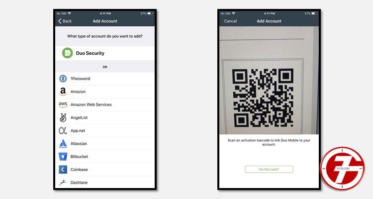 تطبيق المصادقة الثنائية Duo Mobile لحماية الحسابات