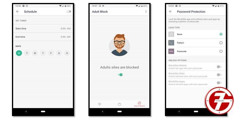 مميزات تطبيق Blocksite المجاني لحجب المواقع على الهاتف
