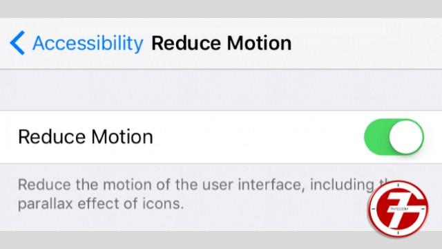 4- تعطيل تأثيرات الحركة لواجهة المستخدم