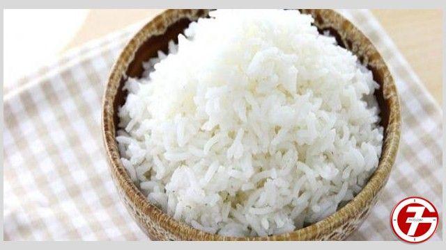 الأرز المسلوق