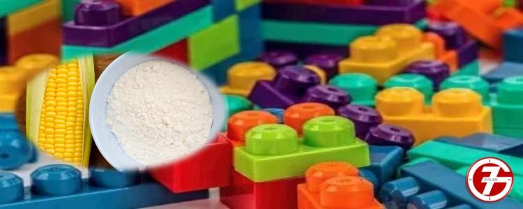 5- تنظيف ألعاب الأطفال باستخدام النشا