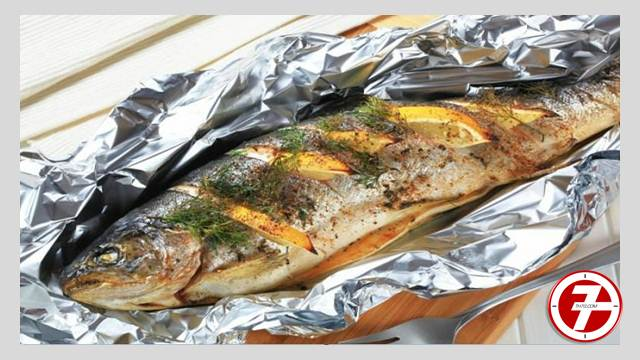 طريقة عمل السمك البورى المشوى