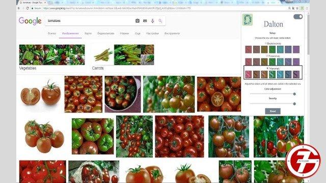 11- إضافة Colorblind - Dalton لجوجل كروم