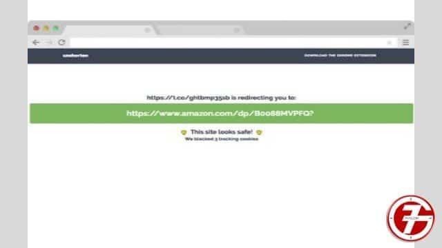 16- إضافة Unshorten.link لإختصار الروابط