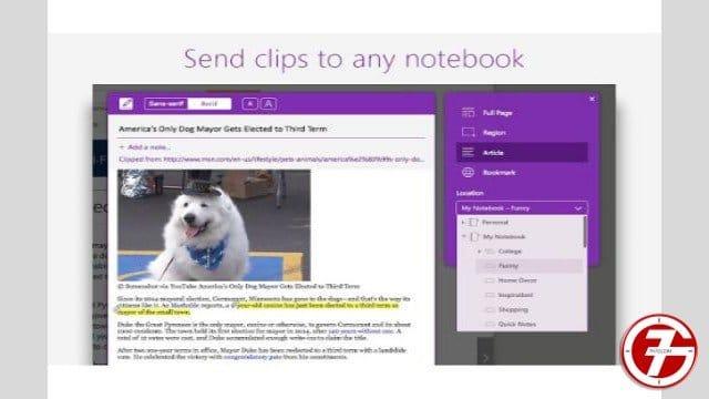 18- إضافة OneNote Web Clipper لحفظ ملاحظاتك أثناء التصفح
