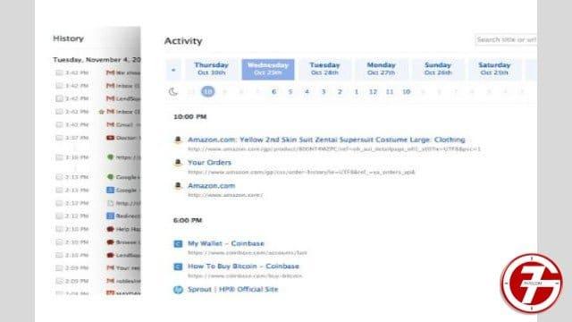 19- إضافة Better History لتنظيم تاريخ التصفح