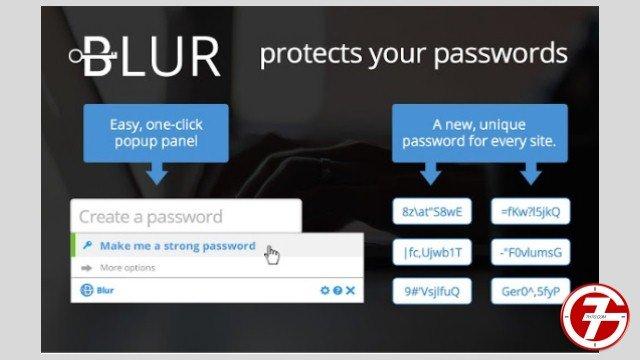20- إضافة Blur لإدارة كلمات المرور