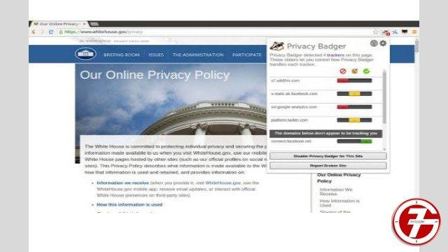 24- إضافة Privacy Badger للحفاظ على خصوصية المستخدمين