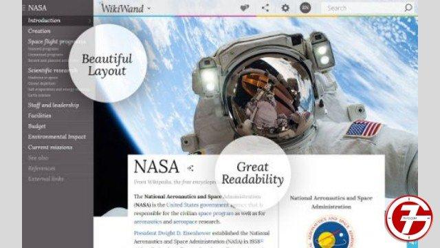 25- إضافة Wikiwand لتحسين مظهر موقع Wikipedia بشكل رائع