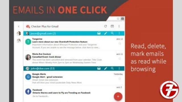 28- إضافة Checker Plus for Gmail لمستخدمي الجيميل