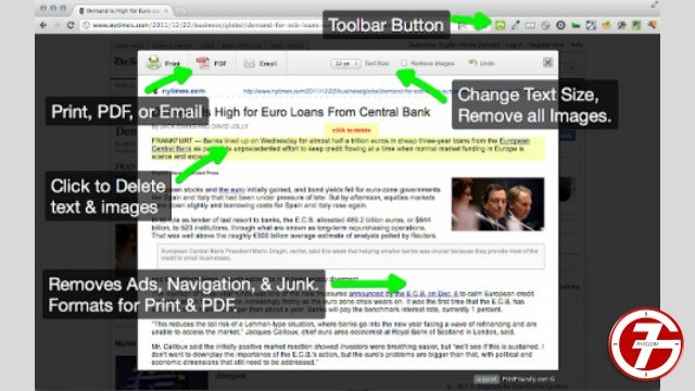 30- إضافة Print Friendly & PDF لتحسين الطباعة والحفظ لمحتوى المواقع