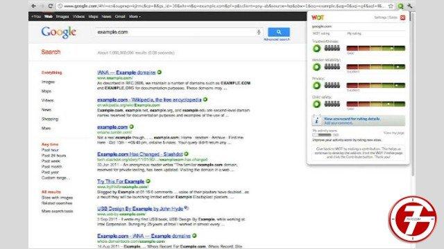 """4- إضافة Web of Trust أو """"الإنترنت الموثوق"""""""