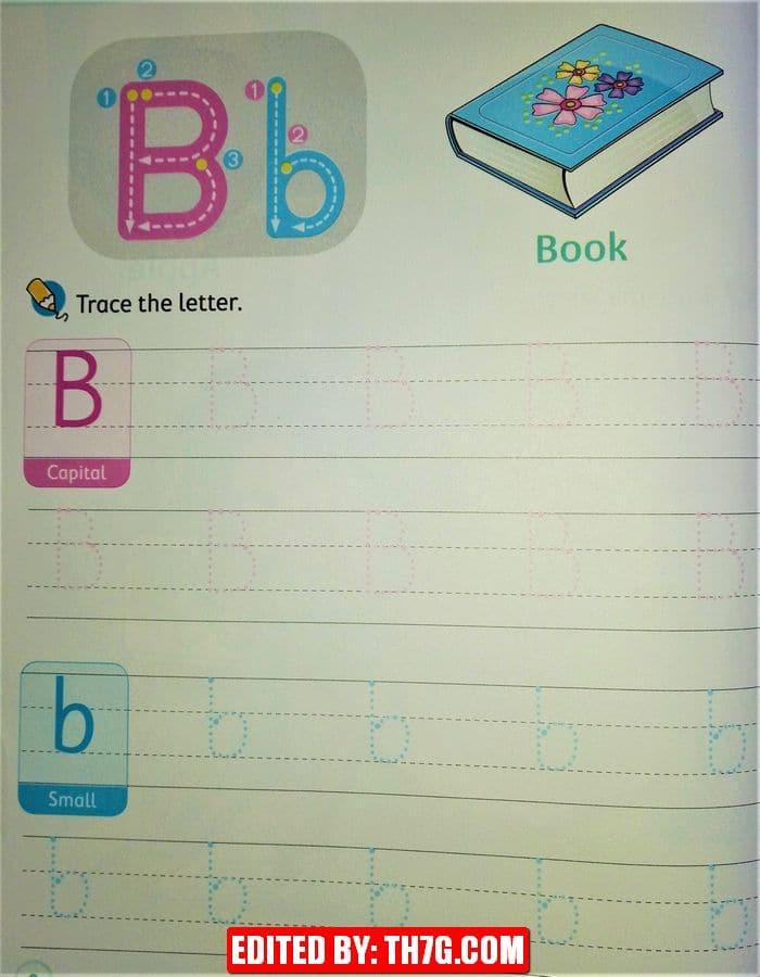 الحروف الانجليزية بالترتيب b