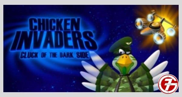 تحميل ألعاب خفيفة للاندرويد سريعة ومميزة جداً chicken invaders