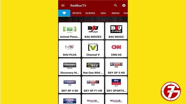 تنزيل تطبيق redbox tv افضل تطبيق لبث القنوات لاجهزة الاندرويد