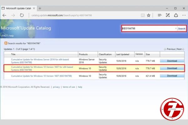 كيفية تحميل تحديثات ويندوز 10 يدويا باحترافية (1)