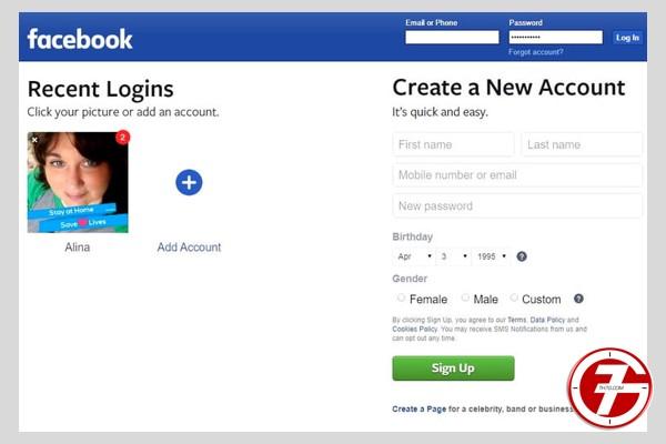 تسجيل دخول المسنجر بدون حساب الفيسبوك 2